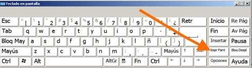 Imprimir pantalla sin teclado ¿Cómo imprimir pantalla sin teclado?
