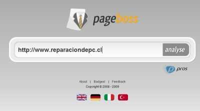Analizador de páginas web Recomendamos