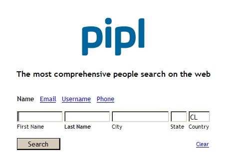 Buscar personas por internet Curiosidades Recomendamos