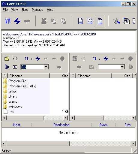 Descargar cliente FTP gratis Descargas Recomendamos Software