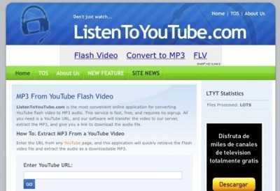 Descargar audio de videos de Youtube Recomendamos ¿Cómo se hace?