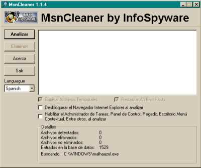 Eliminar virus del MSN Descargas Hacking Seguridad Software