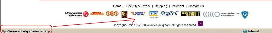 Ebkwlq.com un nuevo sitio de estafas Hacking Opinión Seguridad