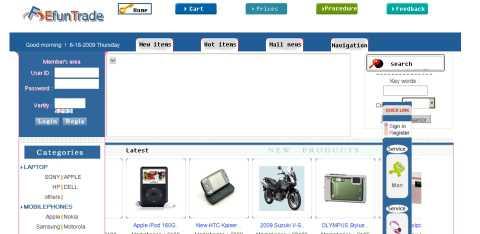 www.efuntrade.com, nuevo sitio de estafas por internet Hacking Opinión Seguridad