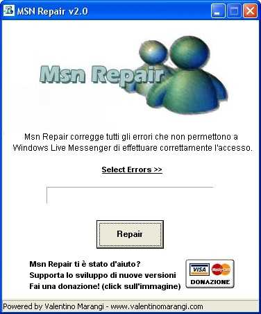 Reparar MSN Descargas Recomendamos