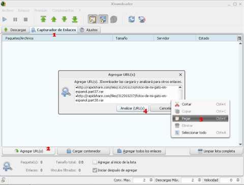 Descargar archivos con JDownLoader Descargas Recomendamos ¿Cómo se hace?