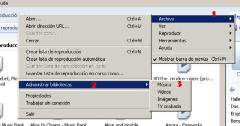 Agregar carpeta a la biblioteca de Windows Media Player 12 ...