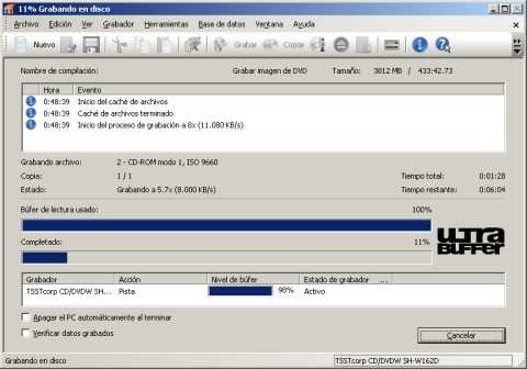 Grabando Windows 7 con Nero Grabar Windows 7 con Nero