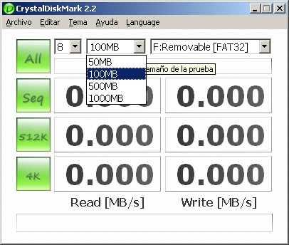 Saber la velocidad lectura/escritura de un Pendrive Cómo se hace Hardware Opinión Recomendamos Software