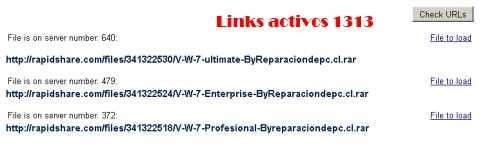 Saber si un link de RapidShare está roto Recomendamos ¿Cómo se hace?