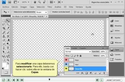 Curso de PhotoShop CS4 en video Descargas Manuales