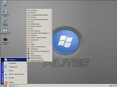 Descargar Windows Pilitos - CD Live de Windows Descargas Recomendamos Sistema Operativo