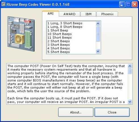 Saber lo que significan los pitidos (beeps) del PC Cómo se hace Descargas Hardware