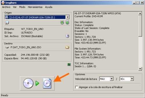Crear un ISO sin Nero y gratis Cómo se hace Descargas Recomendamos Software