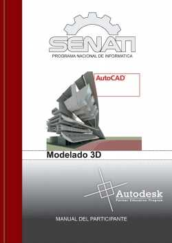 Descargar manual AutoCAD - Modelado 3D Descargas Manuales