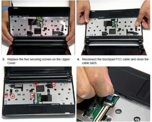 Manual reparación y desarme netbook Acer Aspire One Descargas Manuales