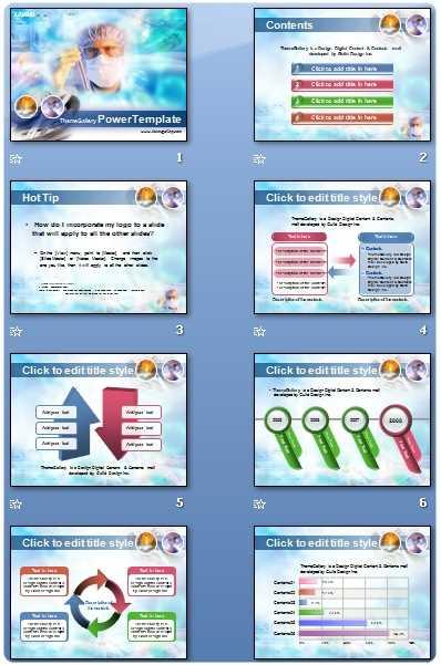 Descargar plantilla PowerPoint laboratorio Descargas