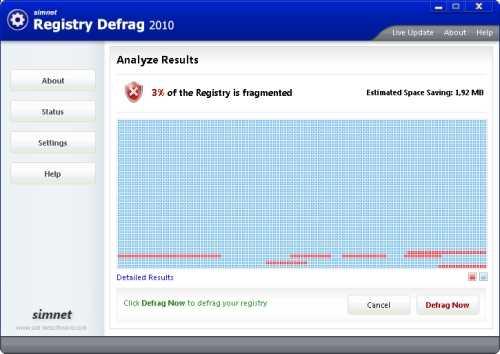 Desfragmentar el registro de Windows Cómo se hace Software