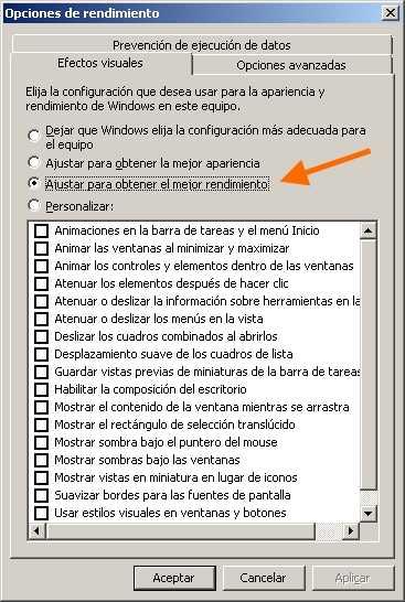 Optimizar Windows 7 sin programas Cómo se hace