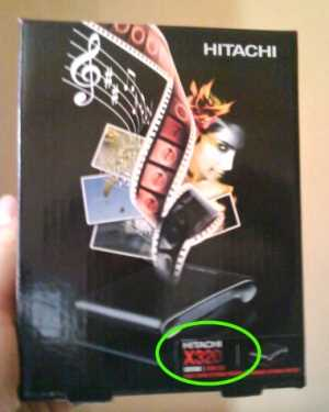 Disco Duro Hitachi 320 GB