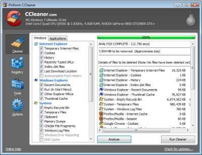 El mejor programa para limpiar los registros de Windows Descargas Recomendamos Software