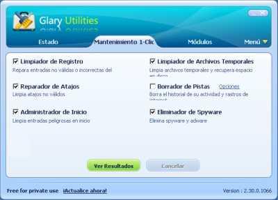 Reemplaza TuneUp con Glary Utilities Descargas Recomendamos Software