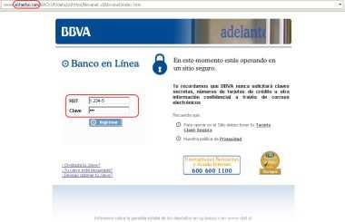 Nuevo Phishing bancario: Ahora es BBVA Hacking Opinión Recomendamos Seguridad