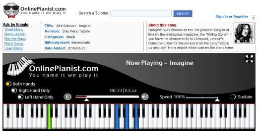 Aprender a tocar piano y teclado online Cómo se hace Recomendamos