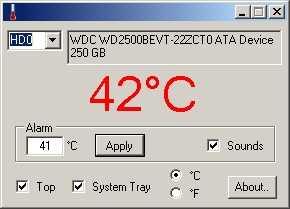 Mostrar alarma cuando un disco duro suba de cierta temperatura Cómo se hace Descargas Hardware Software