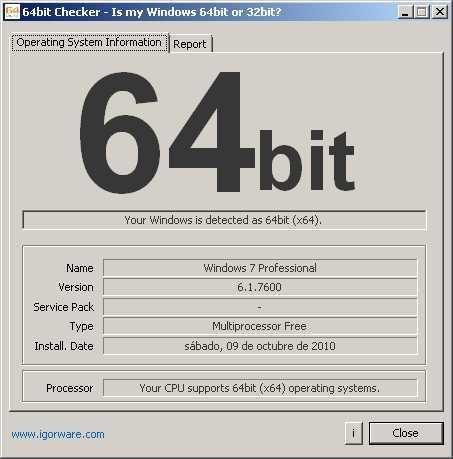 ¿Procesador de 32 o 64 bits? Cómo se hace Descargas Recomendamos Software