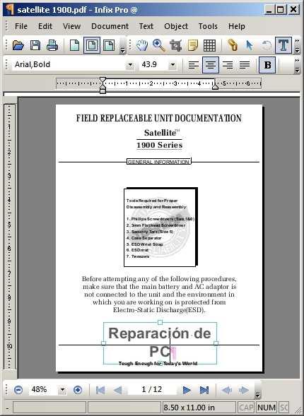 Editor PDF portable Descargas Software