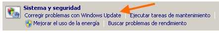 Corregir problemas con Windows Update Solución a los errores 80073712, 800706BE y 8024200D por SP1 de Windows 7