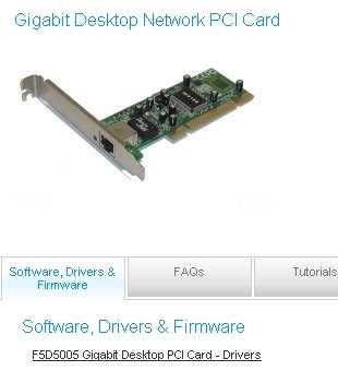 Descargar drivers Belkin tarjeta de red Descargar drivers Belkin