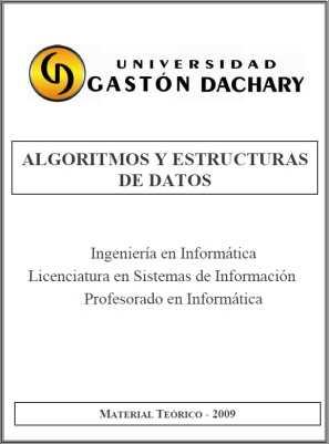 Descargar manual de Algoritmos y estructura de datos Descargas Manuales
