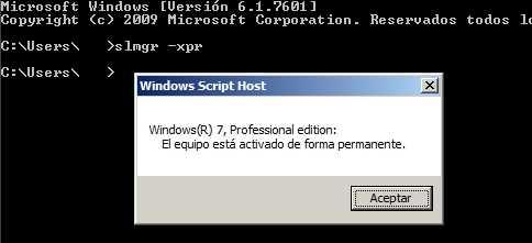 Saber si Windows 7 está activado para siempre Cómo se hace Curiosidades