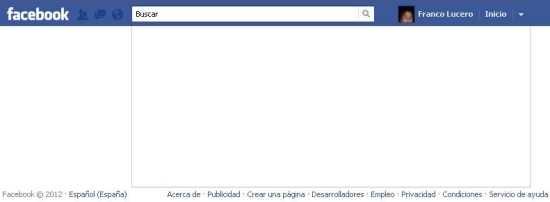 Mi cuenta de Facebook se queda en blanco Cómo se hace Curiosidades Preguntas y Respuestas
