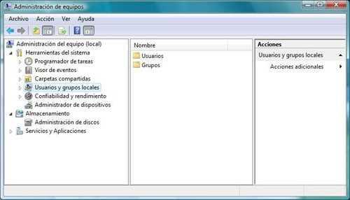 No aparece la carpeta de Usuarios y Grupos locales para Activar el administrador de Windows 7 Cómo se hace Curiosidades Preguntas y Respuestas Seguridad Sistema Operativo
