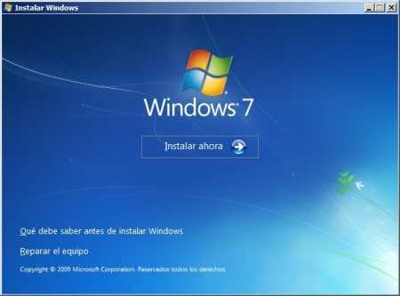 Instalar Windows 7 paso a paso