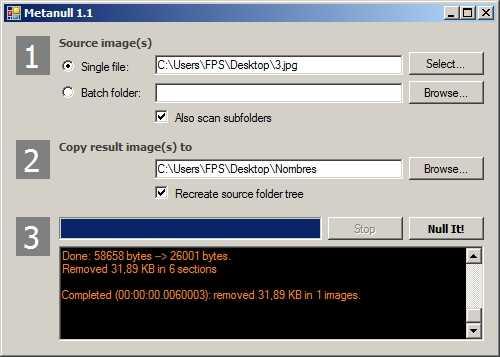 Eliminar TODOS los metadatos de una imagen Cómo se hace Descargas Hacking Recomendamos Seguridad Software