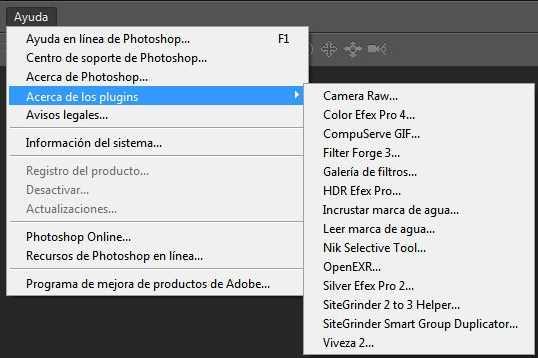 Problema con los plugins de Photoshop Cómo se hace Preguntas y Respuestas Software