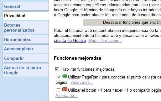 Ver el verdadero PageRank de una página web Cómo se hace Recomendamos Software